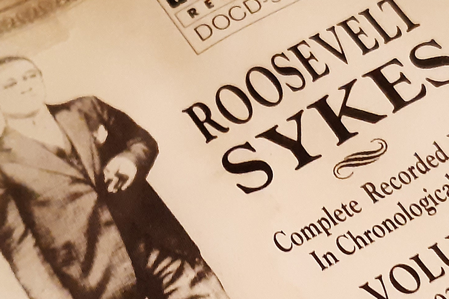 """Roosevelt Sykes """"Complete Recordings"""" ~ CD-Tipp"""
