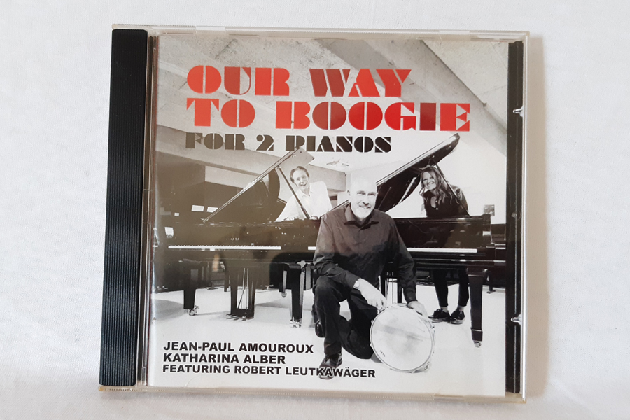 Katharina Alber & J.P. Amouroux ~ Our Way To Boogie ~ CD-Tipp